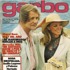 Collectionnisme de Magazine Garbo: REVISTA GARBO 1311 DAVID SOUL MIGUEL BOSE MARIA JOSE CANTUDO NADIUSKA EVA IONESCO MAYRA MERCEDESMILA. Lote 168278504