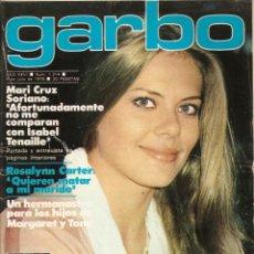 Coleccionismo de Revista Garbo: REVISTA GARBO Nº 1314 MARI CRUZ SORIANO BEATRIZ ESCUDERO TRIO ACUARIO FELIPE GONZALEZ MASSIEL. Lote 168280764