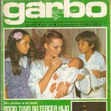 Coleccionismo de Revista Garbo: REVISTA GARBO Nº 1375 ROCIO DURCAL MIGUEL BOSE CAMILO SESTO LOLA FLORES YOLANDA RIOS SERRAT. Lote 169101208