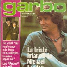 Coleccionismo de Revista Garbo: REVISTA GARBO Nº 1382 MICHAEL LANDON CAMILO SESTO MARI TRINI LOS PECOS SHAUN CASSIDY ROCKY SHARPE. Lote 191436092