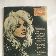 Coleccionismo de Revista Garbo: GARBO NOVIEMBRE 1960 AÑO VIII Nº 402. Lote 169475636