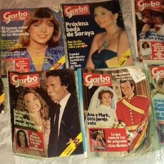 Coleccionismo de Revista Garbo: 7 ANTIGUA REVISTA GARBO AÑO 1981.CON POSTER SERIE PIXI Y DIXI.2 DE LOS PICAPIEDRAS.RUY.JACKY.ETC. Lote 169722684