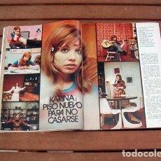 Coleccionismo de Revista Garbo: GARBO / KARINA, MARI TRINI, HOMBRE Nº 1, DAVID CASSIDY, MISION IMPOSIBLE TV SERIE Y ++. Lote 169992320