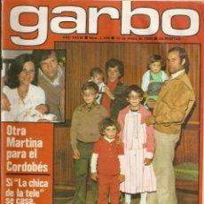 Coleccionismo de Revista Garbo: REVISTA GARBO Nº 1396 TEQUILA BEE GEES SHARON TATE PAUL MC CARTNEY ANA OBREGON MARY TYLER MOORE. Lote 191436038