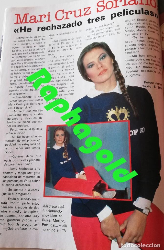 Coleccionismo de Revista Garbo: Revista Garbo nº 1407 Julio Iglesias Pedro Marin Mari Cruz Soriano Sara Montiel Marisol Nadiuska - Foto 4 - 170275300