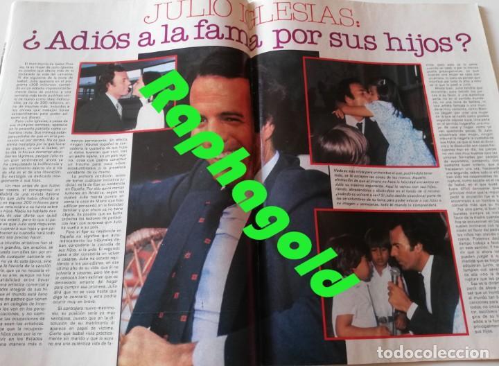 Coleccionismo de Revista Garbo: Revista Garbo nº 1407 Julio Iglesias Pedro Marin Mari Cruz Soriano Sara Montiel Marisol Nadiuska - Foto 5 - 170275300