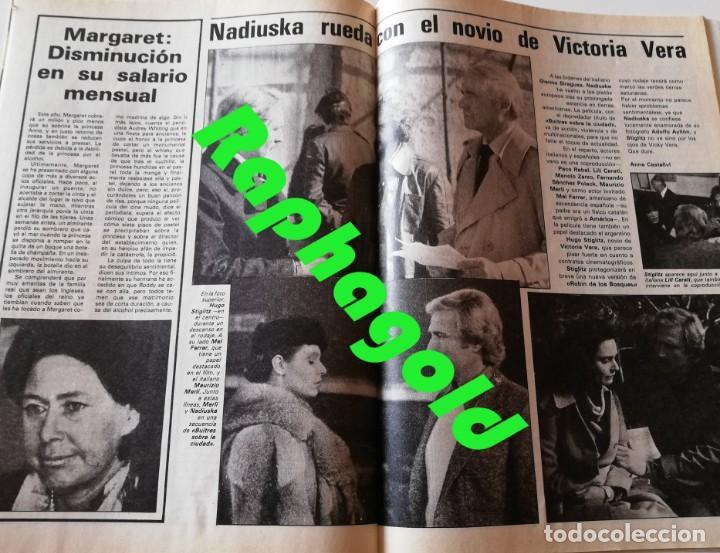 Coleccionismo de Revista Garbo: Revista Garbo nº 1407 Julio Iglesias Pedro Marin Mari Cruz Soriano Sara Montiel Marisol Nadiuska - Foto 6 - 170275300
