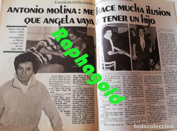 Coleccionismo de Revista Garbo: Revista Garbo nº 1407 Julio Iglesias Pedro Marin Mari Cruz Soriano Sara Montiel Marisol Nadiuska - Foto 7 - 170275300