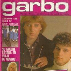 Coleccionismo de Revista Garbo: REVISTA GARBO 1409 LOS PECOS MIKE TRAMP MABEL EUROVISION VACACIONES EN EL MAR DAVID HALLYDAY VARTAN. Lote 170275860
