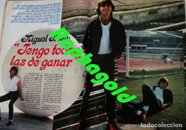 Coleccionismo de Revista Garbo: Revista Garbo nº 1415 Maria jimenez Pepe Sancho Miguel Bose Vacaciones en el Mar Maria Jose Cantudo - Foto 2 - 209943585