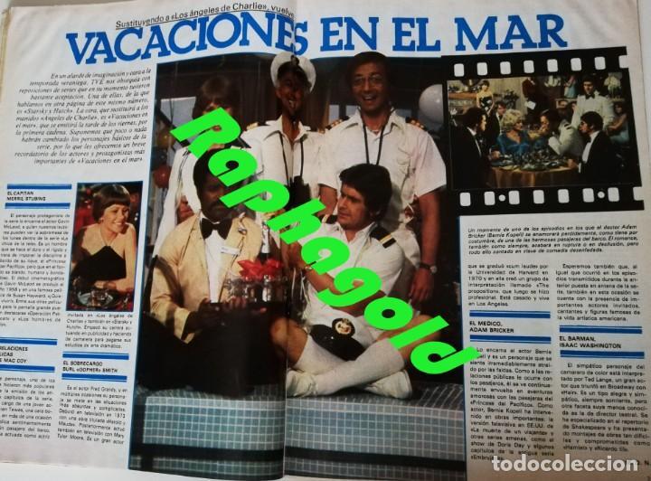Coleccionismo de Revista Garbo: Revista Garbo nº 1415 Maria jimenez Pepe Sancho Miguel Bose Vacaciones en el Mar Maria Jose Cantudo - Foto 3 - 209943585