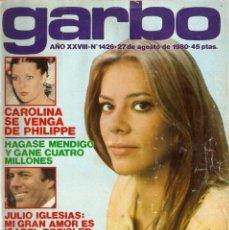 Coleccionismo de Revista Garbo: REVISTA GARBO 1426 MARI CRUZ SORIANO IVÁN ELTON JOHN MIGUEL BOSÉ SALVADOR DALÍ RAQUEL WELCH CANTUDO. Lote 170284992