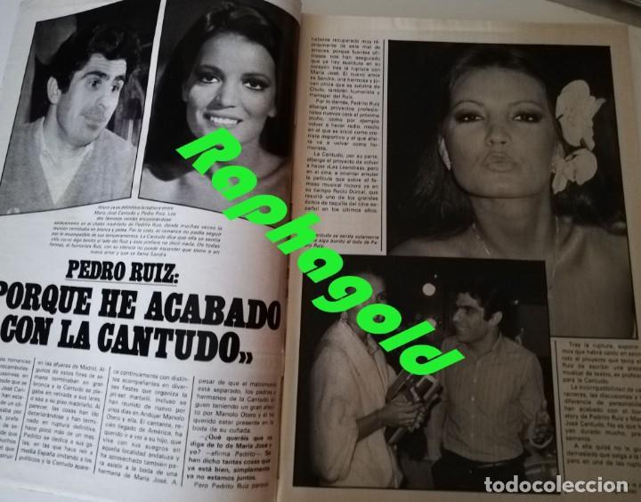 Coleccionismo de Revista Garbo: Revista GARBO 1426 Mari Cruz Soriano Iván Elton John Miguel Bosé Salvador Dalí Raquel Welch Cantudo - Foto 4 - 170284992