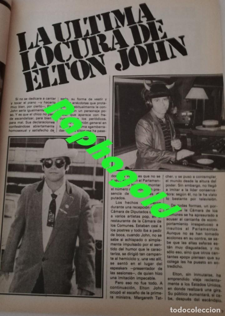 Coleccionismo de Revista Garbo: Revista GARBO 1426 Mari Cruz Soriano Iván Elton John Miguel Bosé Salvador Dalí Raquel Welch Cantudo - Foto 5 - 170284992