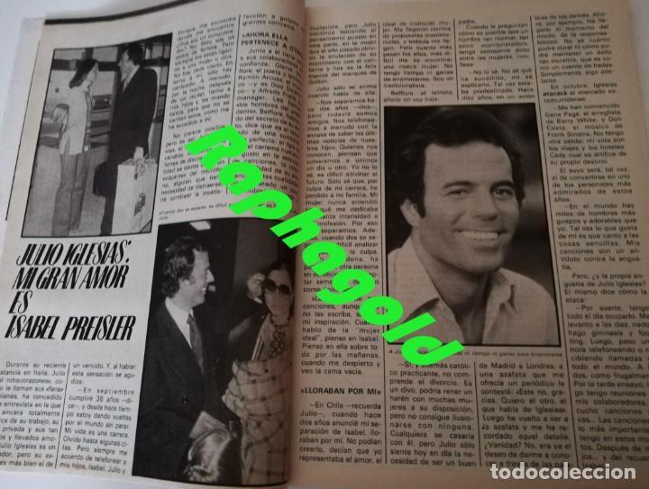 Coleccionismo de Revista Garbo: Revista GARBO 1426 Mari Cruz Soriano Iván Elton John Miguel Bosé Salvador Dalí Raquel Welch Cantudo - Foto 6 - 170284992