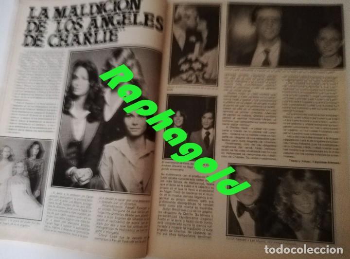 Coleccionismo de Revista Garbo: Revista GARBO 1426 Mari Cruz Soriano Iván Elton John Miguel Bosé Salvador Dalí Raquel Welch Cantudo - Foto 7 - 170284992