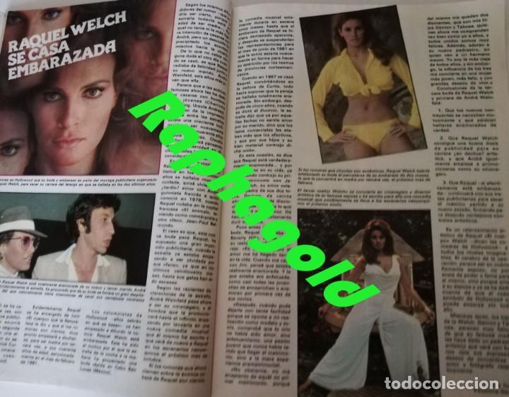 Coleccionismo de Revista Garbo: Revista GARBO 1426 Mari Cruz Soriano Iván Elton John Miguel Bosé Salvador Dalí Raquel Welch Cantudo - Foto 8 - 170284992