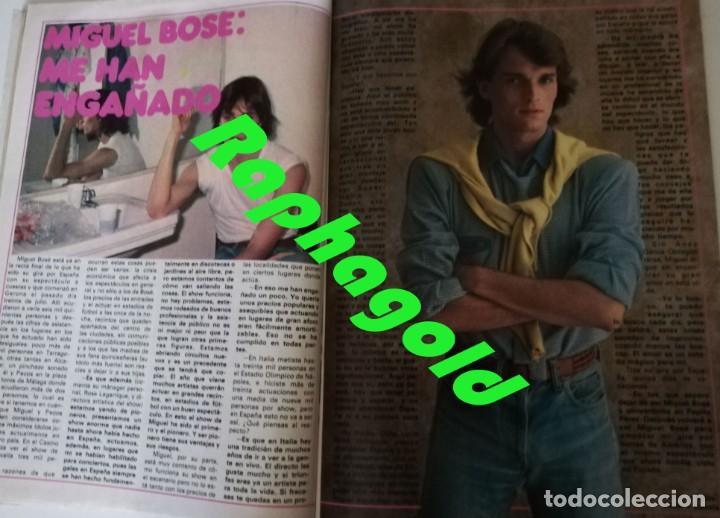 Coleccionismo de Revista Garbo: Revista GARBO 1426 Mari Cruz Soriano Iván Elton John Miguel Bosé Salvador Dalí Raquel Welch Cantudo - Foto 9 - 170284992