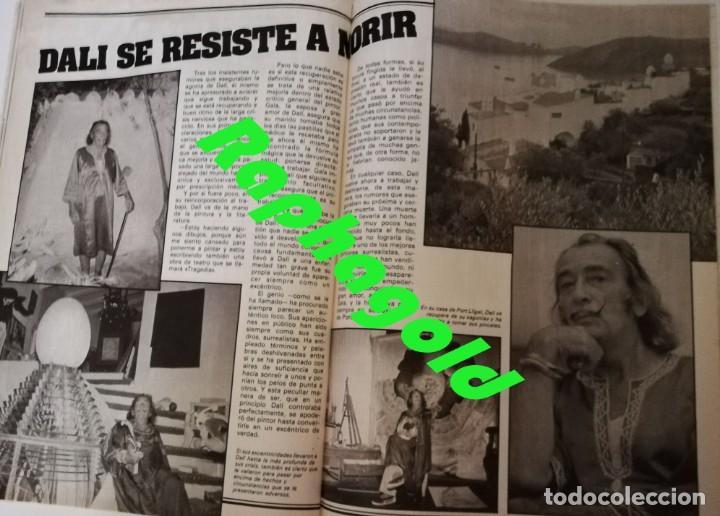Coleccionismo de Revista Garbo: Revista GARBO 1426 Mari Cruz Soriano Iván Elton John Miguel Bosé Salvador Dalí Raquel Welch Cantudo - Foto 11 - 170284992