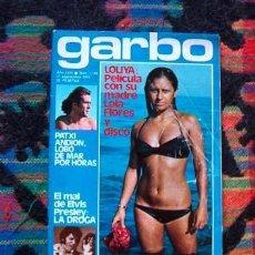 Coleccionismo de Revista Garbo: GARBO / LOLITA FLORES, URI GELLER, INGER NILSSON, CHARLES MANSON, ROSANNA YANNI, ELVIS PRESLEY. Lote 170548516