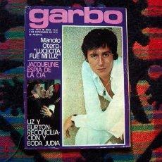 Coleccionismo de Revista Garbo: REVISTA GARBO / MANOLO OTERO, ROMY SCHNEIDER, ANA BELEN, VICTOR MANUEL, INGER NILSSON, TERENCE STAMP. Lote 170548725