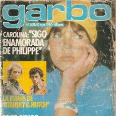 Coleccionismo de Revista Garbo: REVISTA GARBO 1428 CAROLINA DE MÓNACO ROCÍO JURADO ROMY SCHNEIDER MÓNICA RANDALL PALOMA SAN BASILIO. Lote 170780475