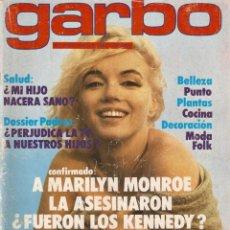 Coleccionismo de Revista Garbo: REVISTA GARBO 1434 MARILYN MONROE CARMEN SEVILLA SILVIA TORTOSA DÚO DINÁMICO TATUM ONEAL MARISA ABAD. Lote 170799410