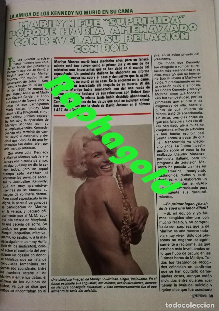 Coleccionismo de Revista Garbo: Revista GARBO 1434 Marilyn Monroe Carmen Sevilla Silvia Tortosa Dúo Dinámico Tatum ONeal Marisa Abad - Foto 2 - 170799410