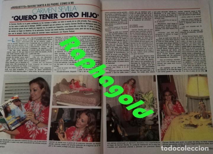 Coleccionismo de Revista Garbo: Revista GARBO 1434 Marilyn Monroe Carmen Sevilla Silvia Tortosa Dúo Dinámico Tatum ONeal Marisa Abad - Foto 4 - 170799410