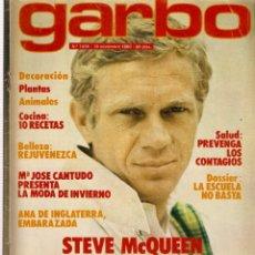 Coleccionismo de Revista Garbo: REVISTA GARBO Nº 1438 STEVE MCQUEEN MARÍA JOSÉ CANTUDO MAYRA GÓMEZ KEMP NORMA DUVAL BIANCA JAGGER. Lote 170841140