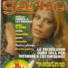 Coleccionismo de Revista Garbo: REVISTA GARBO Nº 1440 MARI CRUZ SORIANO COMANDO G DYANGO FESTIVAL OTI SARA MONTIEL AL PACINO. Lote 170844755