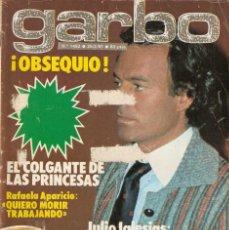 Coleccionismo de Revista Garbo: REVISTA GARBO Nº 1452 JULIO IGLESIAS CAROLINA DE MÓNACO LOLA FORNER MISS ESPAÑA MARISA ABAD. Lote 170867130