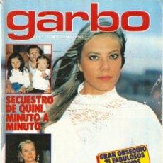 Coleccionismo de Revista Garbo: REVISTA GARBO 1455 MARI CRUZ SORIANO GRACE KELLY NARCISO IBAÑEZ SERRADOR AL BANO LADY DI PEGATINAS. Lote 170869005