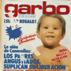 Coleccionismo de Revista Garbo: REVISTA GARGO Nº 1463 LA NIÑA DE CANOVELLAS PETER STRAUSS CHARLES AZNAVOUR RINGO STARR THE BEATLES. Lote 170873680