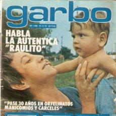 Colecionismo da Revista Garbo: REVISTA GARBO Nº 1468 LA RAULITO ROCÍO JURADO RAPHAEL LINA MORGAN MARISOL MASSIEL AURORA CLARAMUNT. Lote 170884255