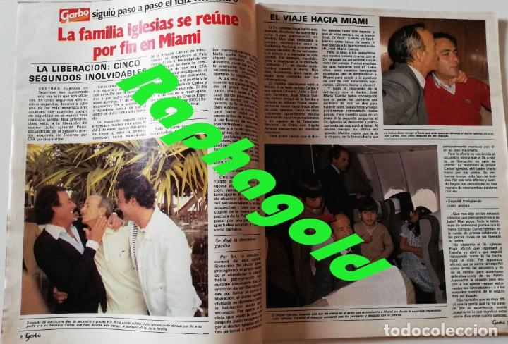 Coleccionismo de Revista Garbo: Revista Garbo nº 1502 Raphael Julio Iglesias Papuchi Marisol Nikka Costa Rocio Durcal Cheryl Ladd - Foto 2 - 171116872