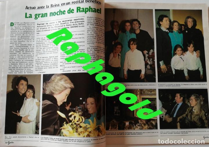 Coleccionismo de Revista Garbo: Revista Garbo nº 1502 Raphael Julio Iglesias Papuchi Marisol Nikka Costa Rocio Durcal Cheryl Ladd - Foto 4 - 171116872