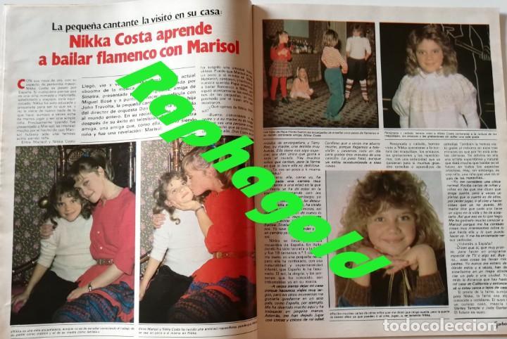 Coleccionismo de Revista Garbo: Revista Garbo nº 1502 Raphael Julio Iglesias Papuchi Marisol Nikka Costa Rocio Durcal Cheryl Ladd - Foto 6 - 171116872