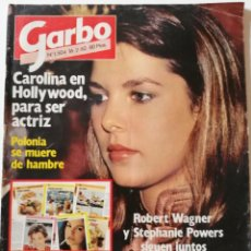 Coleccionismo de Revista Garbo: REVISTA GARBO Nº 1504 CAROLINA DE MÓNACO ANDY GIBB BEE GEES CAMILO SESTO TITO VERANO AZUL LINDA GRAY. Lote 171117718