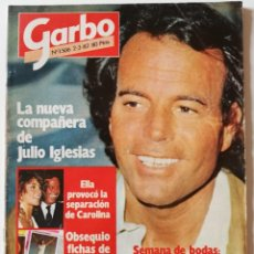 Coleccionismo de Revista Garbo: REVISTA GARBO 1506 JULIO IGLESIAS NARCISO IBÁÑEZ SERRADOR ANA OBREGÓN ANTONIO FERRANDIS FAYE DUNAWAY. Lote 171118173