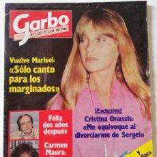 Coleccionismo de Revista Garbo: REVISTA GARBO 1509 MARISOL SIDNEY ROME CARMEN MAURA PATRICIA HEARST VICTORIA ABRIL CRISTINA ONASSIS. Lote 171119285