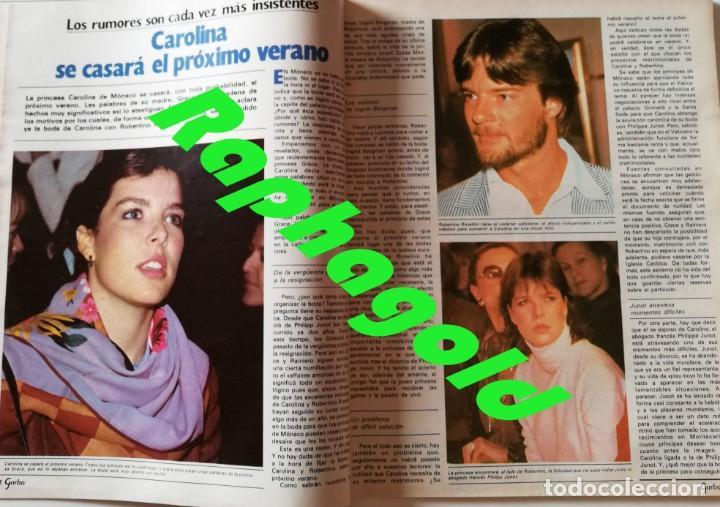 Coleccionismo de Revista Garbo: Revista Garbo nº 1517 Carolina de Monaco Jimenez del Oso Marisol Rocio Durcal Raphael Dallas - Foto 2 - 171121568