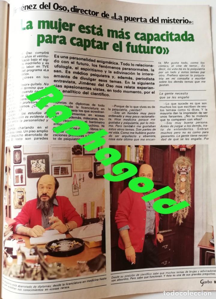 Coleccionismo de Revista Garbo: Revista Garbo nº 1517 Carolina de Monaco Jimenez del Oso Marisol Rocio Durcal Raphael Dallas - Foto 3 - 171121568