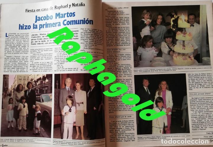 Coleccionismo de Revista Garbo: Revista Garbo nº 1517 Carolina de Monaco Jimenez del Oso Marisol Rocio Durcal Raphael Dallas - Foto 4 - 171121568