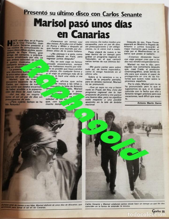 Coleccionismo de Revista Garbo: Revista Garbo nº 1517 Carolina de Monaco Jimenez del Oso Marisol Rocio Durcal Raphael Dallas - Foto 5 - 171121568