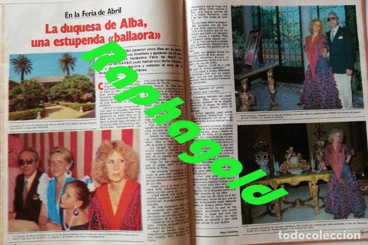 Coleccionismo de Revista Garbo: Revista Garbo nº 1517 Carolina de Monaco Jimenez del Oso Marisol Rocio Durcal Raphael Dallas - Foto 6 - 171121568