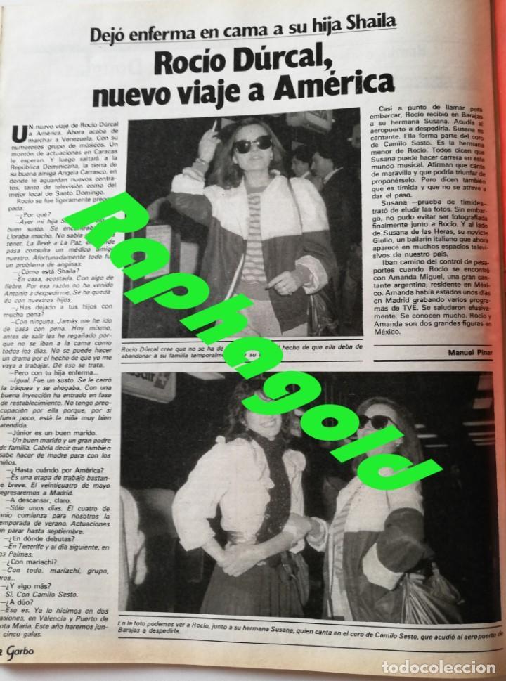 Coleccionismo de Revista Garbo: Revista Garbo nº 1517 Carolina de Monaco Jimenez del Oso Marisol Rocio Durcal Raphael Dallas - Foto 7 - 171121568