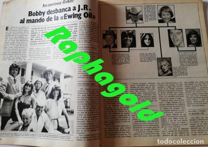 Coleccionismo de Revista Garbo: Revista GARBO nº 1531 Dallas J.R Priscilla Elvis Presley Phoebe Cates Julio Iglesias Farrah Fawcett - Foto 4 - 171125855