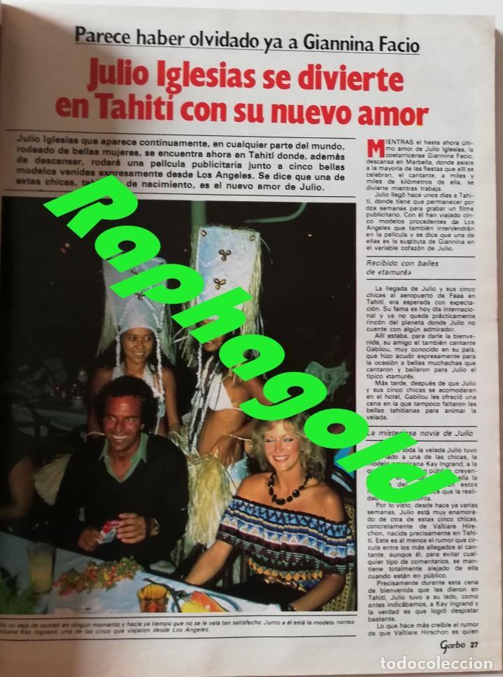 Coleccionismo de Revista Garbo: Revista GARBO nº 1531 Dallas J.R Priscilla Elvis Presley Phoebe Cates Julio Iglesias Farrah Fawcett - Foto 5 - 171125855