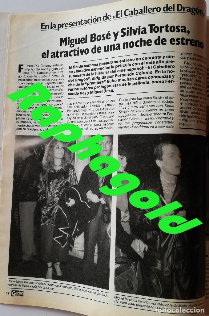 Coleccionismo de Revista Garbo: Revista GARBO nº 1707 Isabel Pantoja Estefanía de Mónaco Miguel Bosé Verónica Castro John Travolta - Foto 4 - 191811870